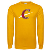 Gold Long Sleeve T Shirt-Athletic C