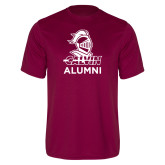 Performance Maroon Tee-Alumni Knight Calvin