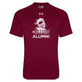 Under Armour Maroon Tech Tee-Alumni Knight Calvin