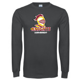 Charcoal Long Sleeve T Shirt-Knights with University