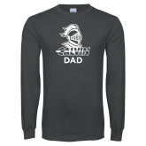 Charcoal Long Sleeve T Shirt-Dad Knight Calvin