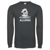 Charcoal Long Sleeve T Shirt-Alumni Knight Calvin