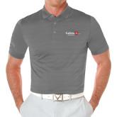 Callaway Opti Vent Steel Grey Polo-University Logo 1876 Horizontal