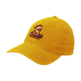 Gold Flexfit Mid Profile Hat-Knights with University