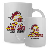 Full Color White Mug 15oz-Knights with University