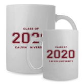 Full Color White Mug 15oz-Class of 2020 Knight