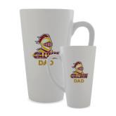 Full Color Latte Mug 17oz-Dad Knight Calvin