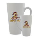 Full Color Latte Mug 17oz-Grandma Knight Calvin