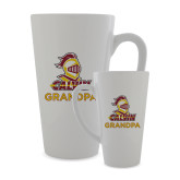 Full Color Latte Mug 17oz-Grandpa Knight Calvin