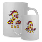 Dad Full Color White Mug 15oz-Dad Knight Calvin