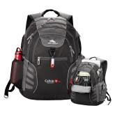 High Sierra Big Wig Black Compu Backpack-University Logo 1876 Horizontal
