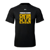 Under Armour Black Tech Tee-Cheer Design