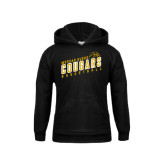 College Youth Black Fleece Hoodie-Basketball Design