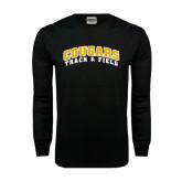 Black Long Sleeve TShirt-Track and Field