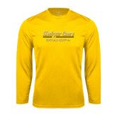 College Performance Gold Longsleeve Shirt-Grandpa