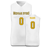 College Replica White Adult Basketball Jersey-Personalized