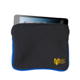 Neoprene Black w/Royal Trim Zippered Tablet Sleeve-Official Logo