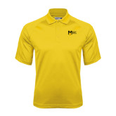 College Gold Dri Mesh Pro Polo-Official Logo