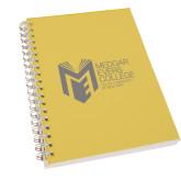 College Clear 7 x 10 Spiral Journal Notebook-Official Logo