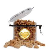Cashew Indulgence Round Canister-Wordmark