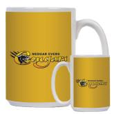 Full Color White Mug 15oz-Medgar Evers Cougars