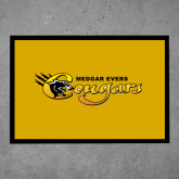 College Full Color Indoor Floor Mat-Medgar Evers Cougars