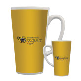 Full Color Latte Mug 17oz-Medgar Evers Cougars