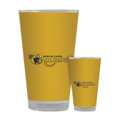 Full Color Glass 17oz-Medgar Evers Cougars