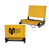 Stadium Chair Gold-Official Logo