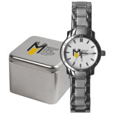 College Mens Stainless Steel Fashion Watch-Official Logo