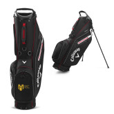 College Callaway Hyper Lite 3 Black Stand Bag-Official Logo