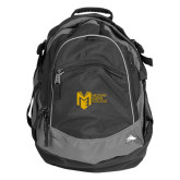 College High Sierra Black Titan Day Pack-Official Logo