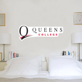 2 ft x 6 ft Fan WallSkinz-Queens College Stacked
