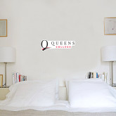 6 in x 2 ft Fan WallSkinz-Queens College Stacked