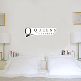 1 ft x 3 ft Fan WallSkinz-Queens College Stacked