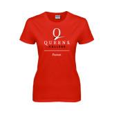 Ladies Red T Shirt-Parent
