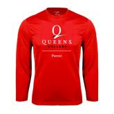 Performance Red Longsleeve Shirt-Parent