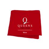 Red Sweatshirt Blanket-Mom