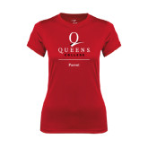 Ladies Syntrel Performance Red Tee-Parent