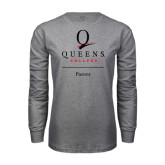Grey Long Sleeve T Shirt-Parent