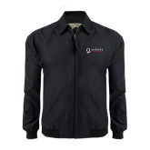 Black Players Jacket-Queens College Stacked