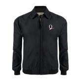 Black Players Jacket-Q Logo