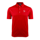 Red Dry Mesh Polo-Q Logo