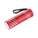 Astro Red Flashlight-Queens College Stacked Engraved