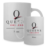 Full Color White Mug 15oz-Mom
