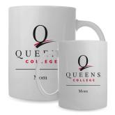 Full Color White Mug 15oz-Mom