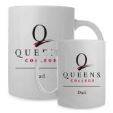 Full Color White Mug 15oz-Dad