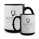 Full Color Black Mug 15oz-Mom