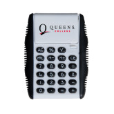 White Flip Cover Calculator-Queens College Stacked