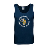 Navy Tank Top-Queensborough Tigers